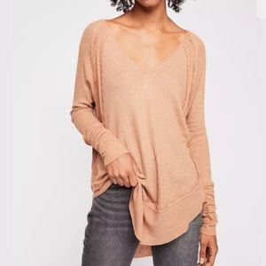 Free People Catalina Thermal Top XS